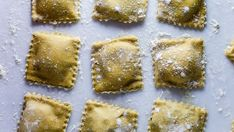 Ravioli (Dough and Choice of 4 Fillings) Posted in reply to a message board request. This is the family recipe for homemade ravioli. I have included 4 filling variations along with the ravioli dough recipe. Please note that this dough was made by hand and Sweet Italian Sausage, Pasta Machine, The Fresh, Pasta Dishes, Italian Recipes, Italian Cooking, Italian Meals, Italian Pasta, Italian Dishes