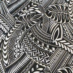 Pacific island pattern.                                                                                                                                                                                 More