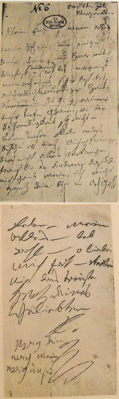 "Handwritten Love Letter - Beethoven's ""Immortal Beloved"""