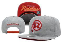 NFL Washington Redskins Mitchell And Ness Gray Snapback Hats 059! Only $8.90USD