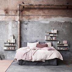 Bedroom styling by @lottaagaton and by @marcuslawett | ImmyandIndi