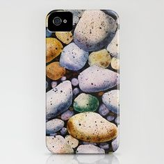 beach stones iPhone Case by Denise Comeau - $35.00 Beach Stones, Iphone Cases, Crafts, Style, Swag, Manualidades, Stylus, Handmade Crafts, Diy Crafts