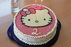 Hello - Kitty - Torte (Rezept mit Bild) von Dannychan | Chefkoch.de