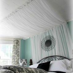 HOME DZINE Bedrooms | Easy DIY headboard ideas