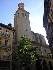 Pamplona - Iglesia de San Saturnino.