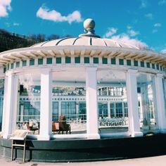 Scarborough English seaside, bandstand, architecture   Design Soda blog.