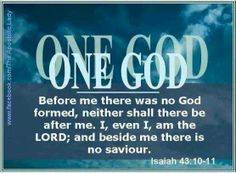 Image result for the ultimate savior is which God, Isaiah 43:11