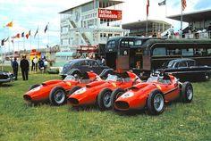 1958 French GP - Circuit de Reims - Ferrari Dino 246