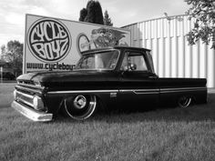 '66 Chevy C10 Built by Old Crow Speed Shop now owned by one of the Law brothers from Cycle Boyz Customs