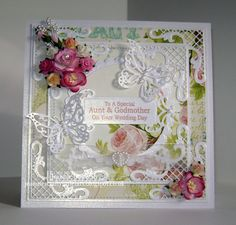 Wedding Day Card with Dies from #Joy Crafts, #Spellbinders, #X Cut