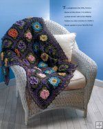 Granny Square Flower Garden [NM161748] - $12.99 : Maggie Weldon, Free Crochet Patterns - beautiful!