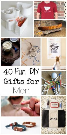 Diy gift ideas for men that will amaze him 35 gifts you can do 40 fun diy gifts for men for fathers day or anytime solutioingenieria Gallery