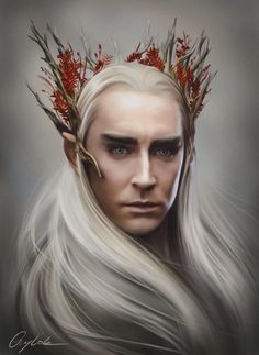 King of Mirkwood; Thranduil, son of Oropher, father of Legolas Legolas Und Thranduil, Lee Pace Thranduil, Tauriel, Gandalf, Hobbit Art, O Hobbit, The Hobbit Movies, Jrr Tolkien, Lotr