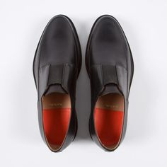 Paul Smith Men's Black Calf Leather 'Dole' Loafers