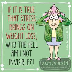 don't stress that it won't help                                                                                                                                                                                 More