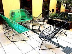 Canapé de terrasse bar Acapulco 3 - Sledge