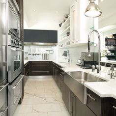 Galley Kitchen Design, Pictures, Remodel, Decor and Ideas - page 4