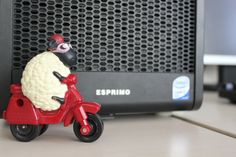 Shaun's motorcycle diaries. The Fujitsu Esprimo safe driving.