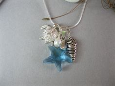 Beach Blues Dream Necklace by dazzledesigns on Etsy, $35.00  Love this!