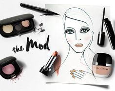 How to cinch a '60s cat eye using the Marc Jacobs Beauty The Mod palette. Read more on the Glossy! #Sephora #HowTo