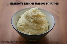 """I made these mashed potatoes for a potluck and I am now the mashed potatoes queen. I take them everywhere! My family has turned into """"only mom's mashed potatoes will do"""" snobs! These are amazing!"""