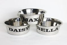 "Personalized 2 Quart Stainless Steel Dog Bowl Perfect Gift For Your Special Pet! Great Gift For Any Pet Lover!!   	 		 			 				 					Famous Words of Inspiration...""Before I met my husband, I'd never fallen in love. I'd stepped in it a few times.""					 				 				 					Rita... more details available at https://perfect-gifts.bestselleroutlets.com/gifts-for-pets/for-dogs/product-review-for-personalized-2-quart-stainless-steel-dog-bowl-perfect-gift-for-your-special-pet/"