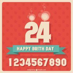 first birthday party idea Gb Bilder, Birthday Design, Happy Birthday Cards, Birthday Celebration, Birthday Invitations, Free Design, Party Time, Vector Free, Birthday Congratulations