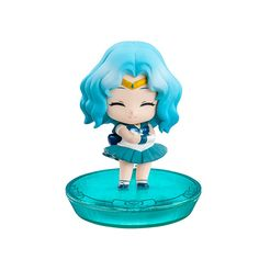 Petit Chara Sailor Neptune figures. Order info and pics here http://www.moonkitty.net/buy-bandai-tamashii-nations-sailor-moon-sh-figuruarts-figures-models.php #SailorMoon #Moonkitty