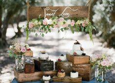 Vintage Wedding Details From Rusticweddingchic.com