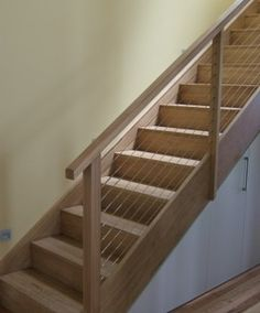 wire balustrade stairs - Google Search
