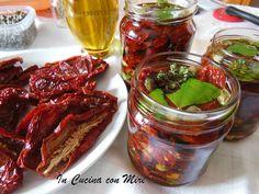 #gialloblogs #incucinaconmire #Pomodori secchi sottolio   In cucina con Mire