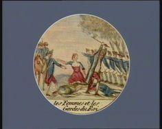 French Revolution Digital Archive: Les Femmes et les Gardes du Roi [estampe]