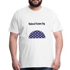 National Freedom Day | American Flag Apparel Freedom Day, Baby Accessories, American Flag, Baby Kids, Mens Tops, Fashion, Men, Women, Moda