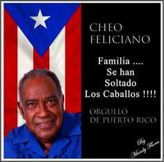 Cheo Feliciano, orgullo de Puerto Rico y su gente. QDEP 17 de abril del 2014