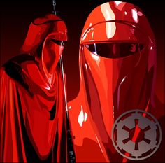 I always loved the red guards. #starwars #badass