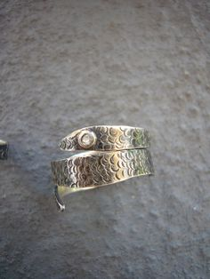 Sterling Silver Snake Rings by CDSOdesigns on Etsy, $105.00