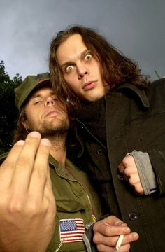 Ville and Mige