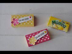 Mamba-Matchbox mit Stampin' Up!