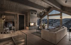 Modern Interior, Home Interior Design, Mountain Cottage, Winter Cabin, Amai, Cabins In The Woods, Contemporary Bedroom, Decoration, House Ideas