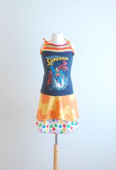 Upcycled Clothing Upcycled Dress Kids Clothes Recycled Clothing Girls ...