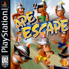 Ape Escape. My favorite video game.