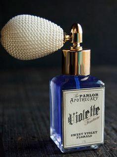 Violet Lavender Vanilla Perfume -- oh me, oh my