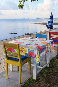 Faţă de masă Fiesta Outdoor Tables, Outdoor Decor, Outdoor Furniture, Home Decor, Party, Decoration Home, Room Decor, Interior Decorating, Outdoor Furniture Sets