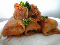 Polish cabbage rolls
