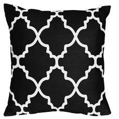 Sweet Jojo Designs Trellis Microfiber Throw Pillow