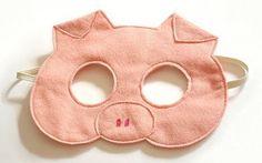 mascara de carnaval 2014 porquinho
