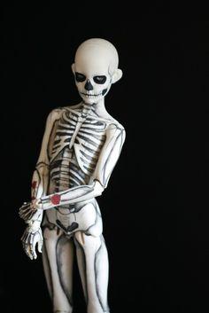 Skeleton Boy // Ball Joint Doll