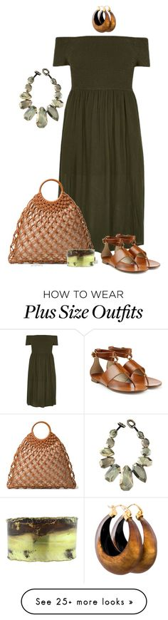 """""""Mixed media- plus size"""" by gchamama on Polyvore featuring River Island, Michael Kors, Boaz Kashi, Viktoria Hayman and Alexis Bittar"""