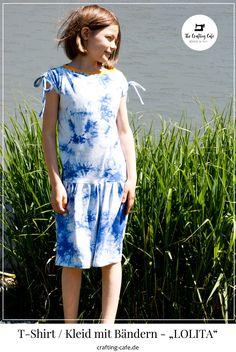 kinderkleid nähen Lily Pulitzer, Batik, Shibori, Blog, Crafting, Dresses, Fashion, Girl Shirts, Sew Mama Sew