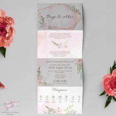 Geometrikus Harmonika Esküvői Meghívó Dream Wedding, Wedding Invitations, Wedding Invitation Cards, Wedding Invitation, Wedding Announcements, Wedding Invitation Design